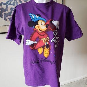 Vtg Mickey Inc Purple Disney 25th (1996) Large